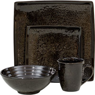 Found it at Wayfair - Galaxy 16 Piece Dinnerware Set
