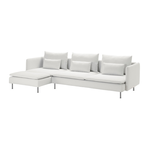 Soderhamn Sectional 4 Seat Ikea Durable Microfiber Which Is Soft