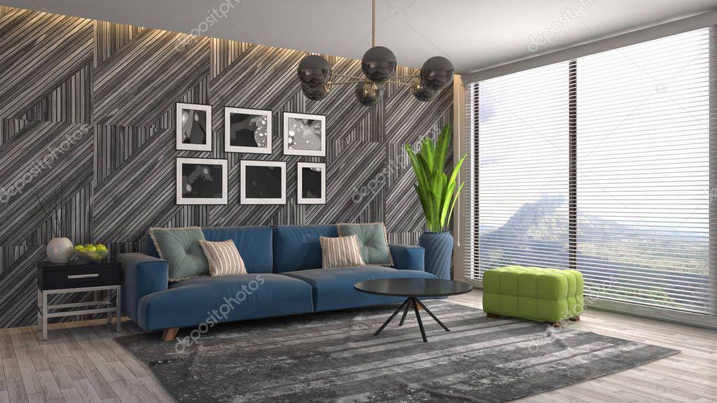 Interior Living Room Illustration Stock Photo Spon Room Living Interior Photo Ad