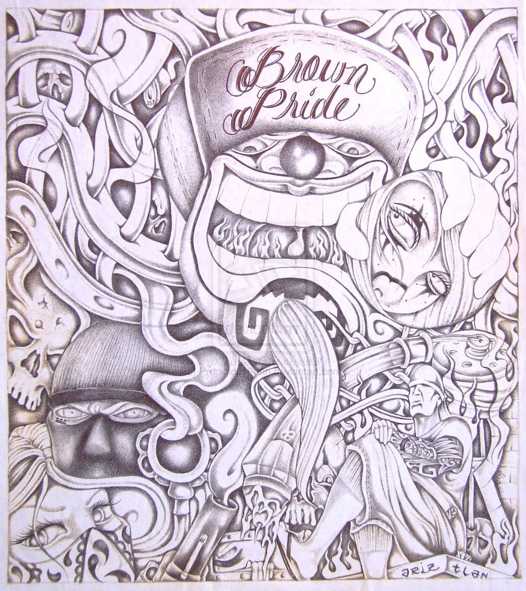 hardwork #tattoo #sketch #devianart #lowrider art #chicano #style #design #drawings