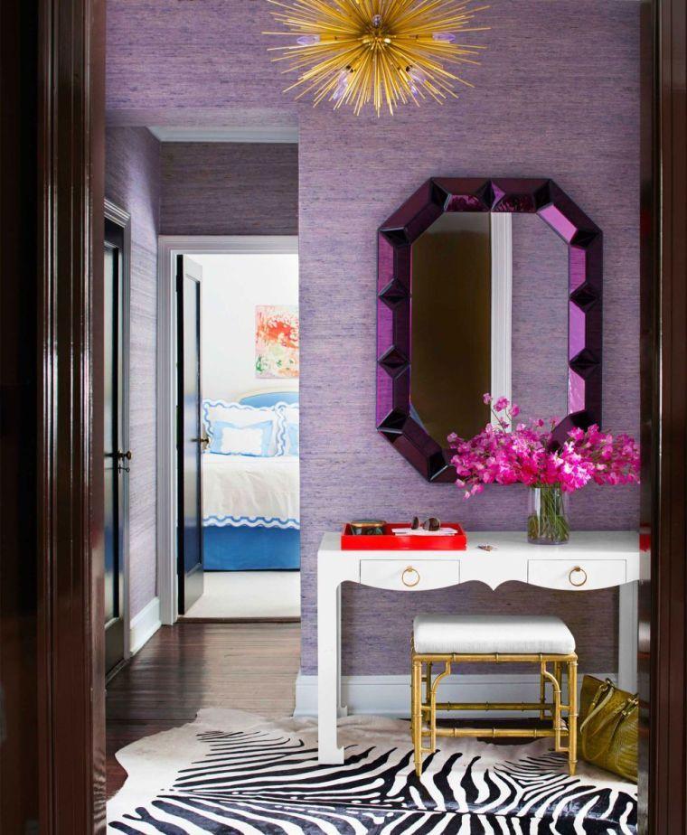 La couleur Pantone 2018, cu0027est lu0027ultra violet Venez la - couleur tendance chambre a coucher