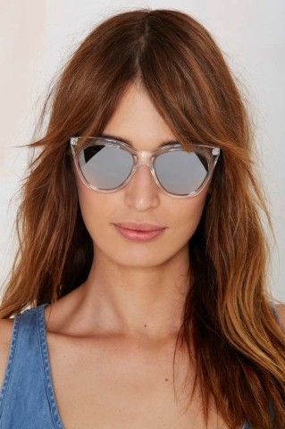 Quay Isabelle Cat-Eye Shades - Clear | Shop Accessories at Nasty Gal!