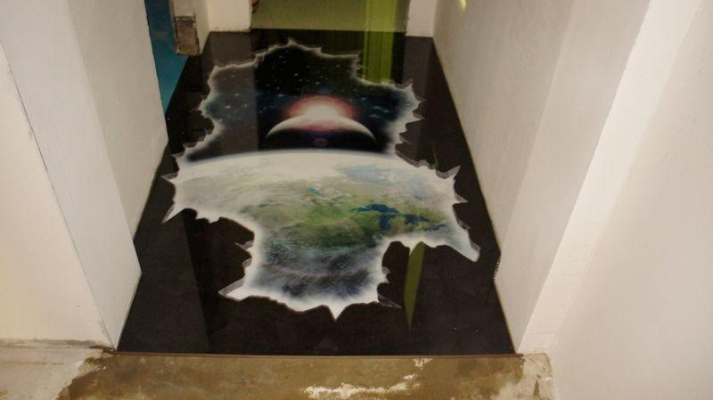 Flooring   Self Leveling Floor Designs Among All The Flooring Options,  Flooring Art Gives Your Interior Great Effects, Bathroom Floor Murals,  Kitchen Floors ...