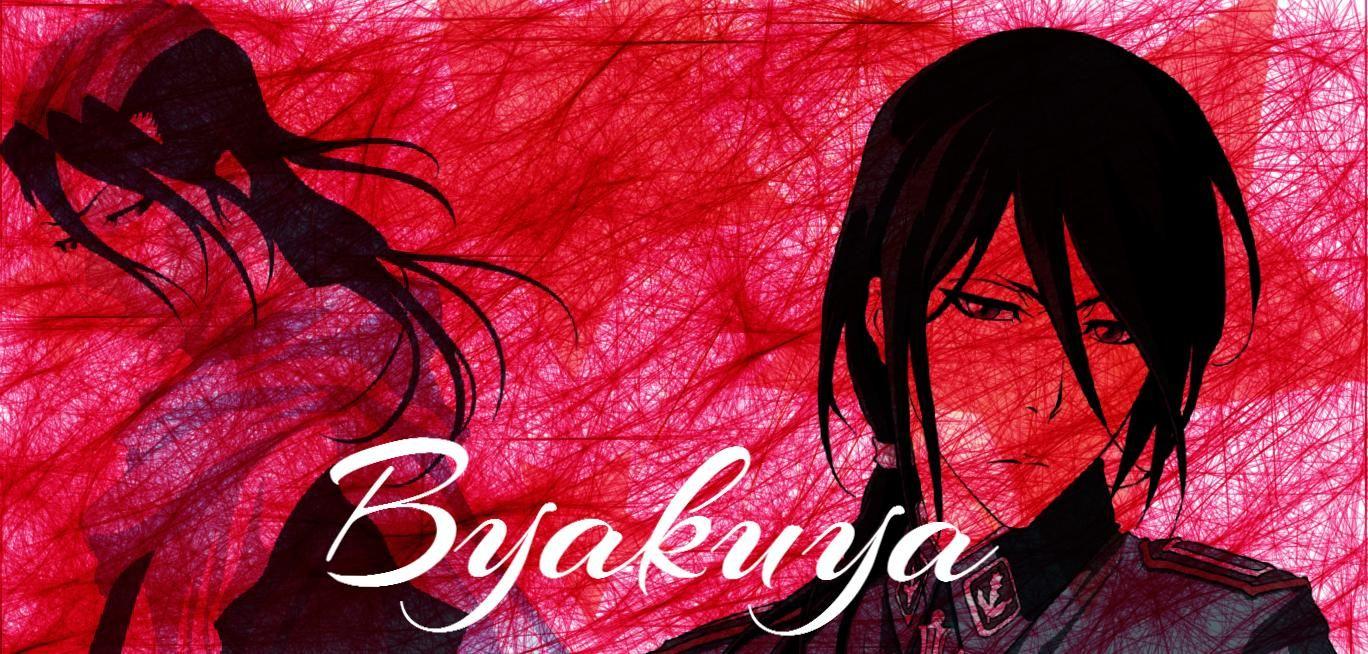 Byakuya neon signs neon anime