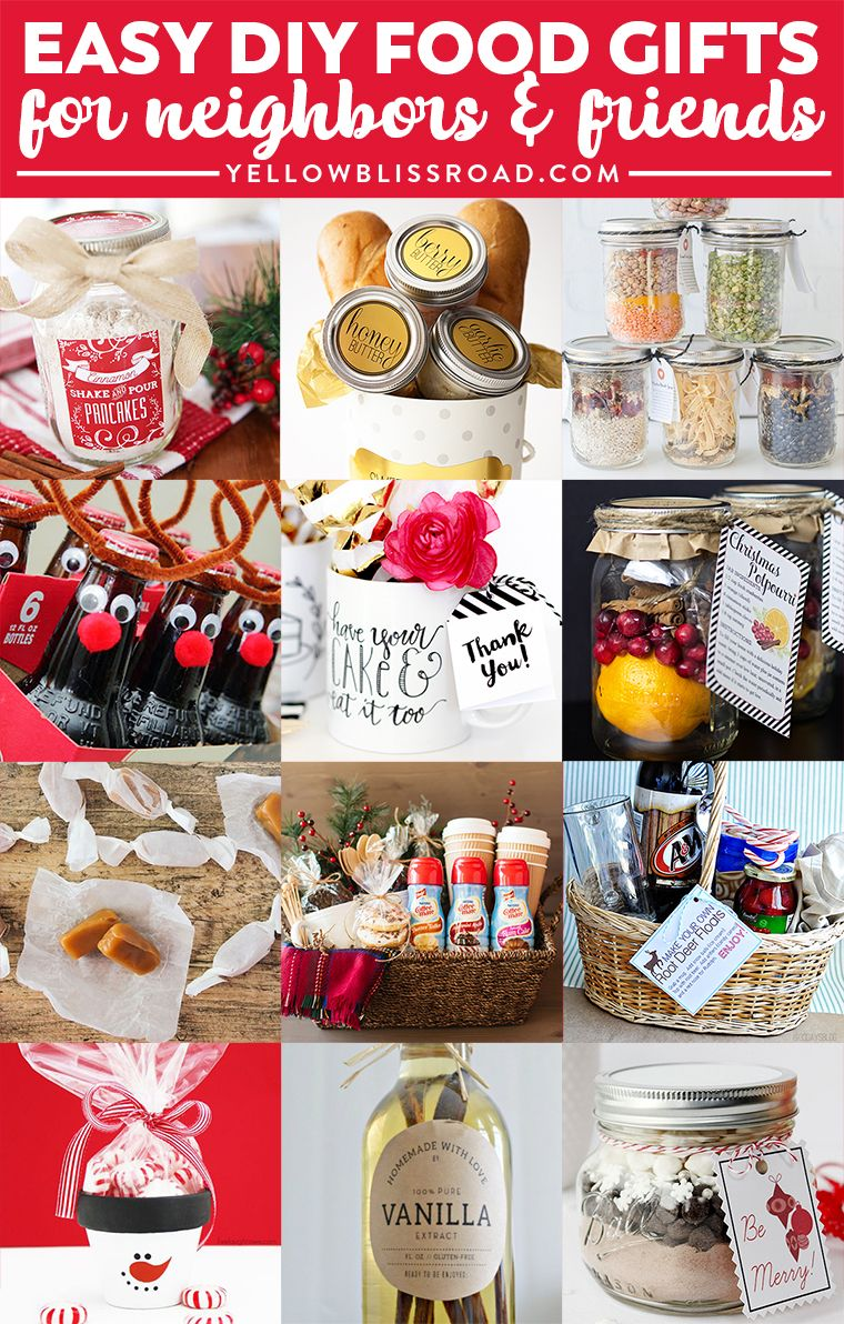 Budget Gifts for Friends & Neighbors Diy christmas gifts