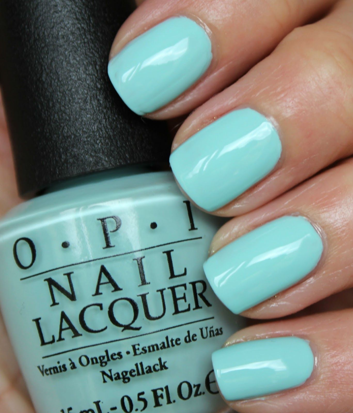 Tiffany Blue Gel Nail Polish: OPI Gelato On My Mind Newest To My Collection And Has To