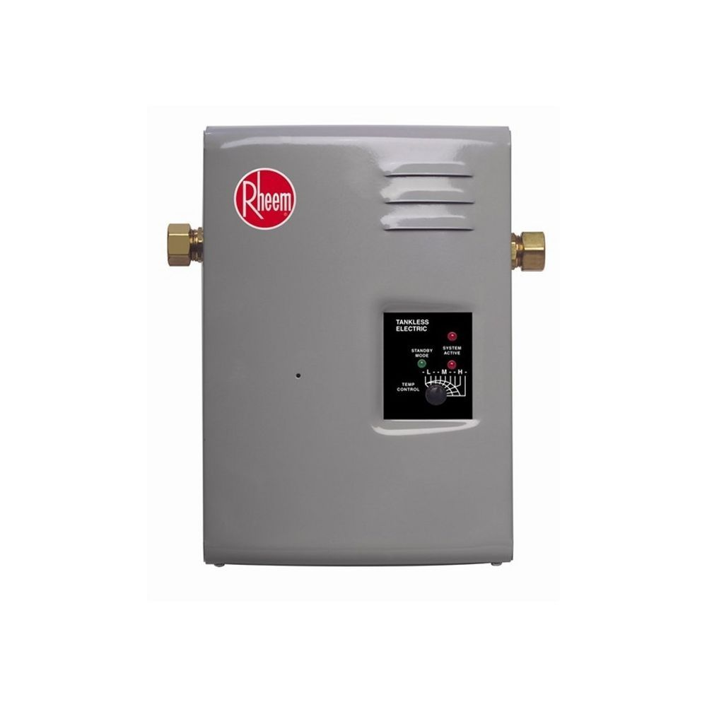 Rheem Rte 9 Electric Tankless Water Heater 3 Gpm Rheem Tankless Water Heater Tankless Hot Water Heater Water Heater