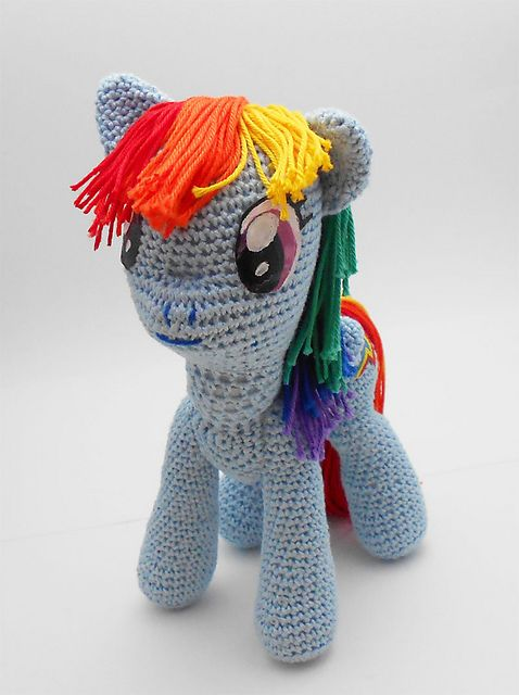 My Little Pony Amigurumi pattern by Jasmine Crabtree | Pinterest