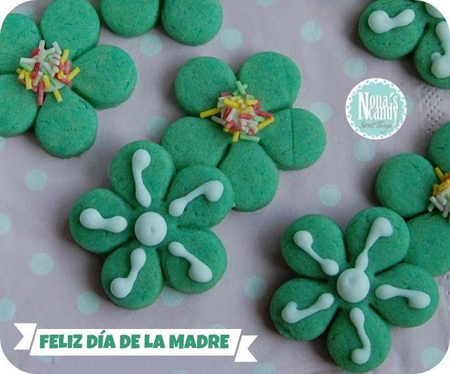 NONA'S Candy: Galletas de mantequilla con colorante verde