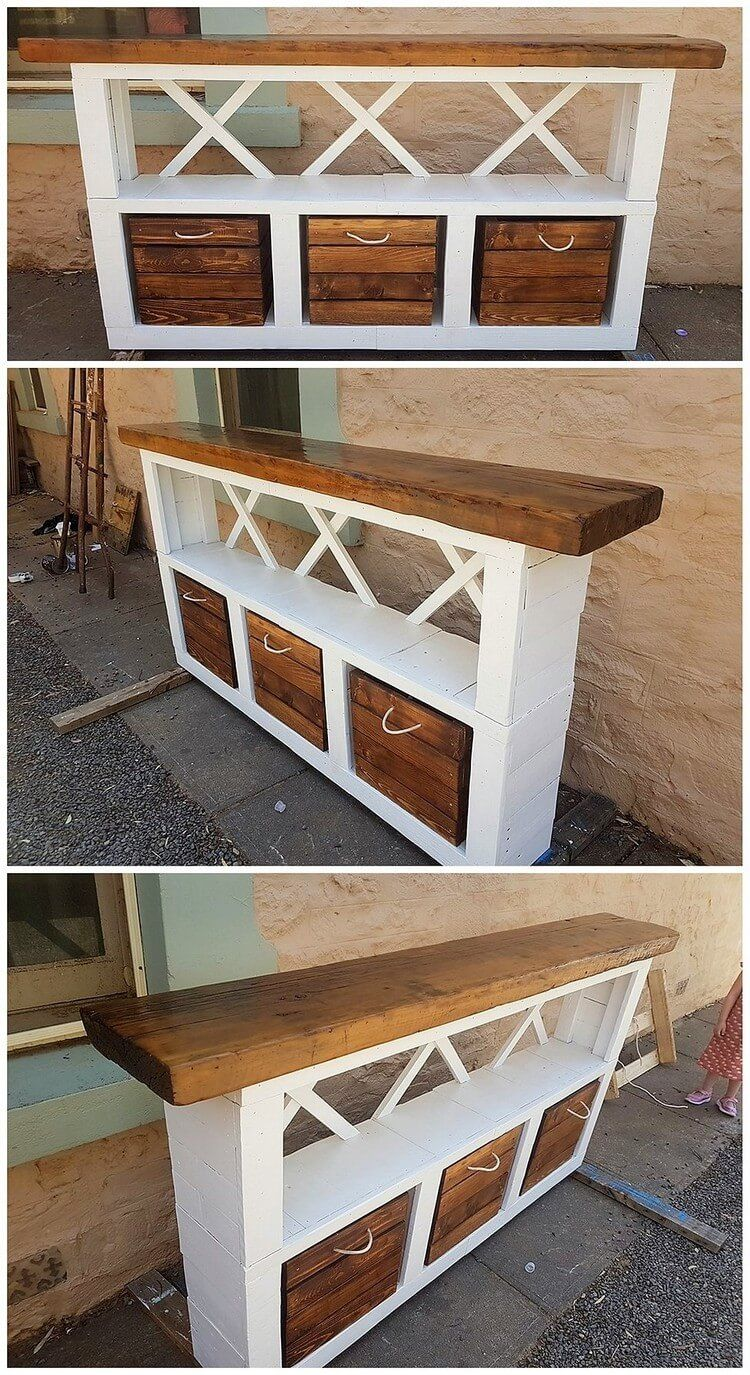 Incredible DIY Ideas Using Old Shipping Wood