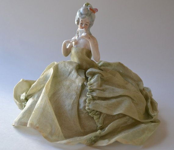 Vintage Half Doll Arms Free Pin Cushion Doll Germany