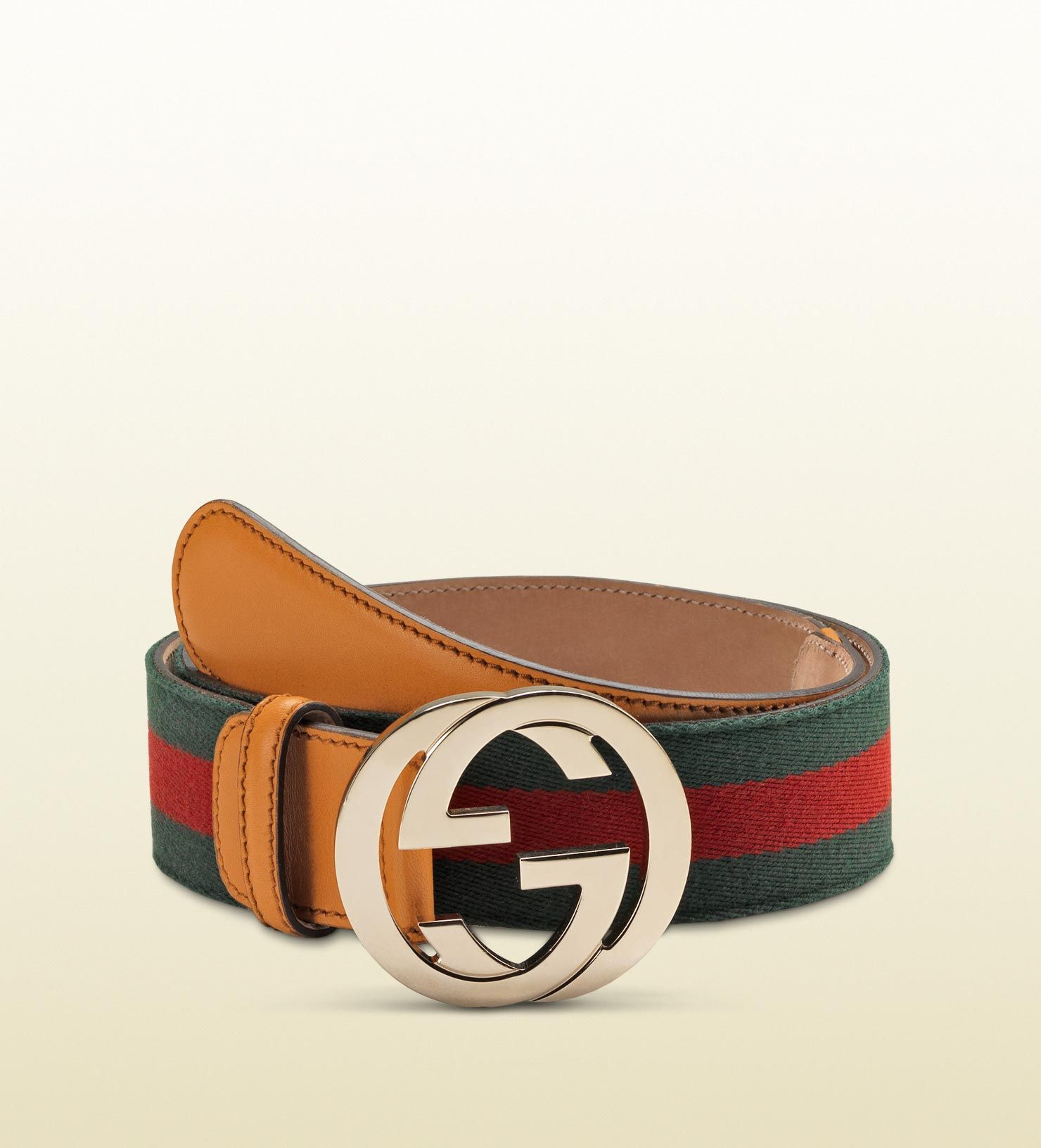 7e1a1cb9a12 Gucci - belt with interlocking G buckle 114876H17OG8498