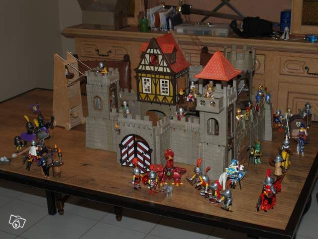 Ancien ch teau fort 639 480 jeux vid o for Plan chateau fort playmobil