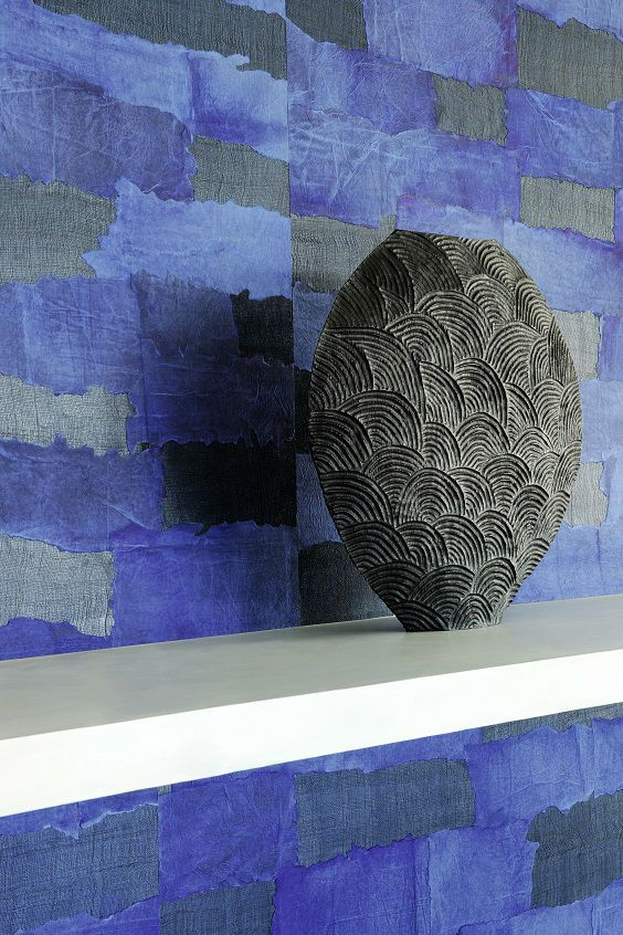 Ancient human craft, constantly subject to the laws of nature. #elitis #wallpaper #wallcovering #oceania