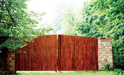 Renovácia záhradnej brány namiesto jej výmeny