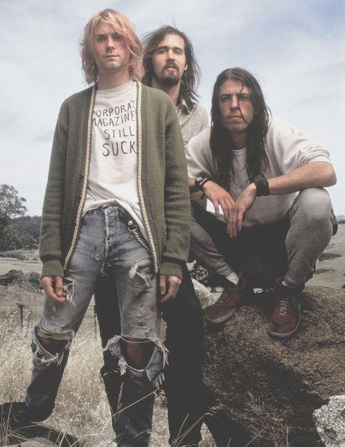 Grunge-Stil Basics: How to Rock, 90s Grunge Fashion!  nirvana-90er-Jahre-grunge-…