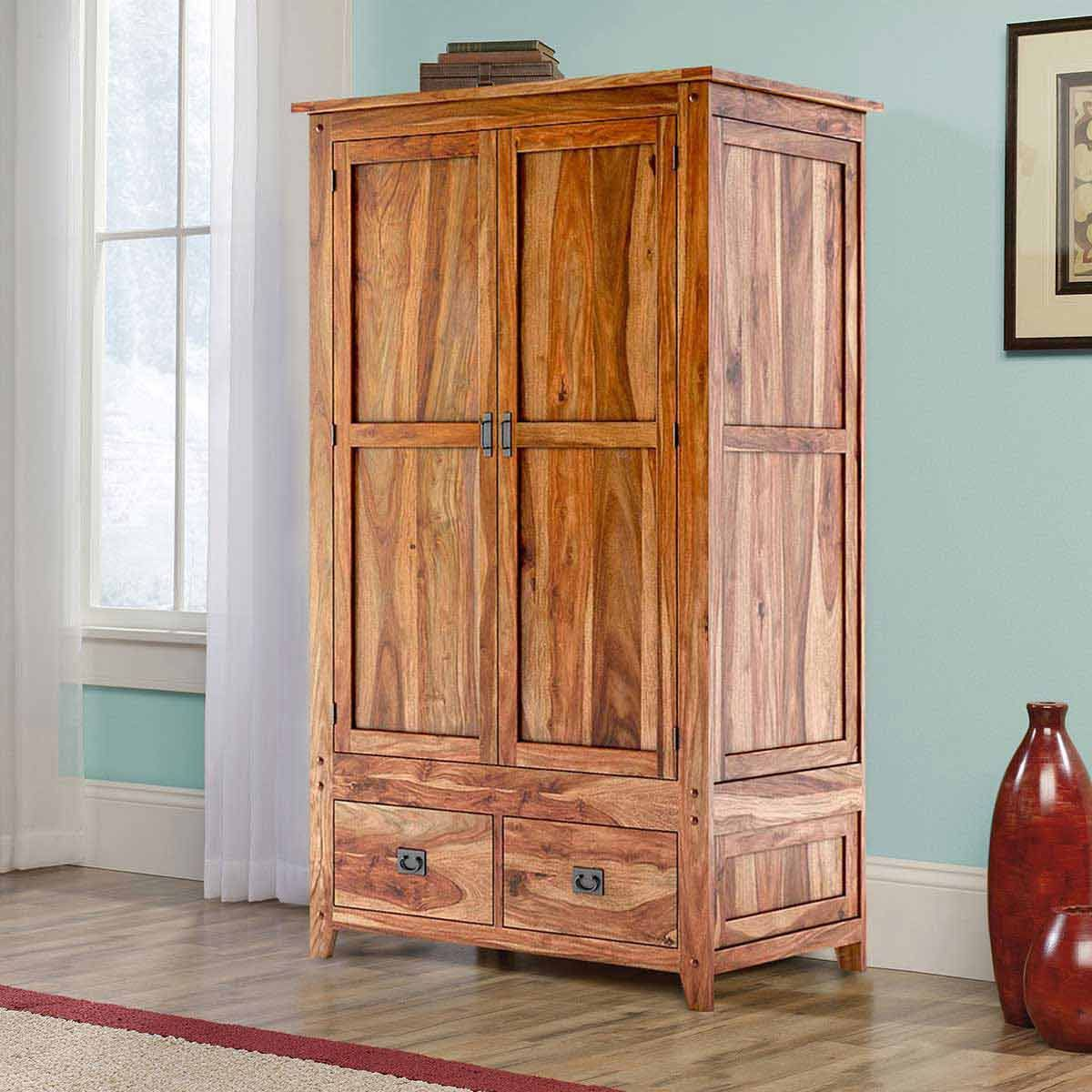 stain wardrobes wood warm s is a from crockin archbold this finished wardrobe honey furniture in new pine solid