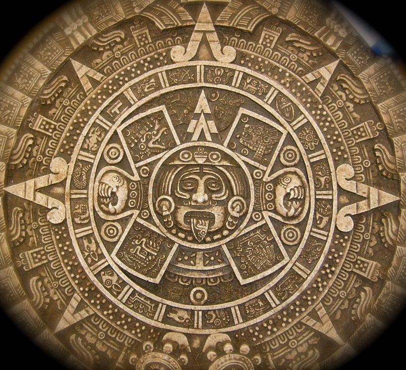 Aztec Calendar Aztec Warrior