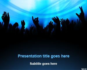 free dj entertainment powerpoint template free powerpoint