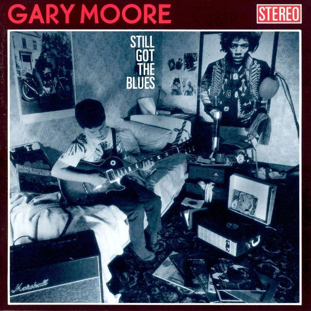 Still Got The Blues Lp Vinyl Best Buy Rock Album Covers Album Cover Art Blues