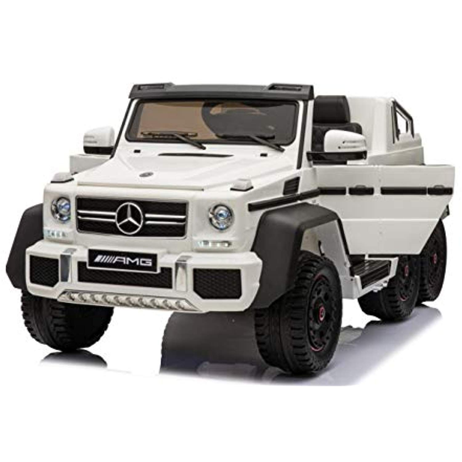 Luxury 4x4 Edition 6 Wheels Mercedes Benz G65 12v 14amp Kids Ride On Car Battery Powered Toy With Doors Music Lights Rubber Whee Mercedes Mercedes Benz Benz