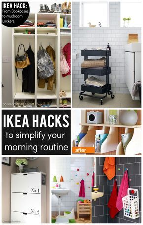 IKEA Hacks to help Simplify your Morning!