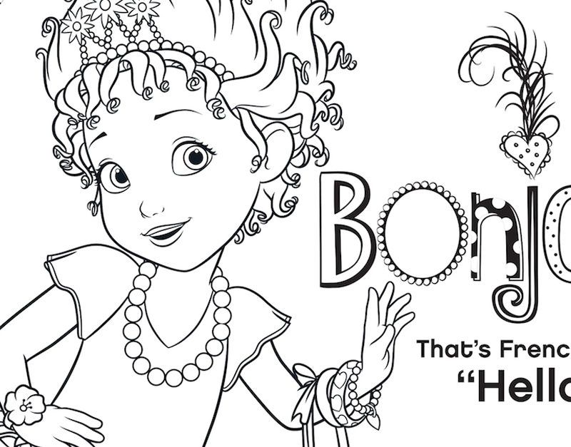 Say Bonjour To This Fancy Nancy Coloring Page Fancy Nancy Coloring Pages Cool Coloring Pages