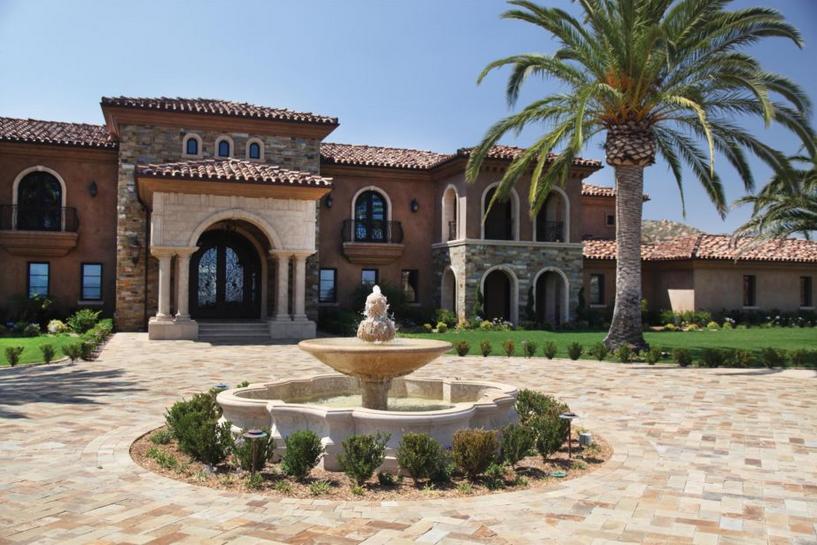 This estate features materials from Orange, CA-based Thompson Building Materials. See more: http://luxesource.com/resources/thompson-building-materials. #luxeLA #architecture #interiordesign #interiors #design #interiordesignideas