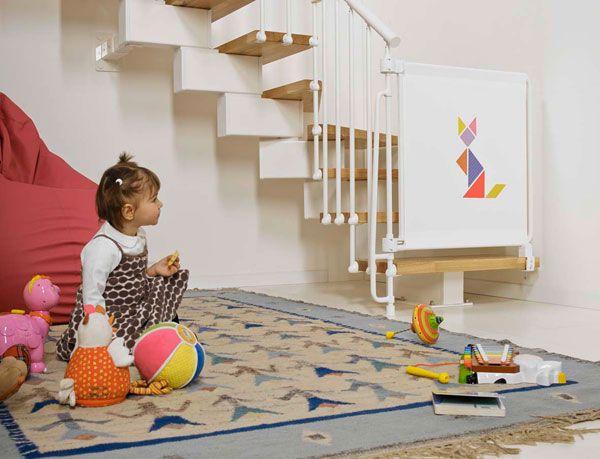 Cancello Bambini ~ Bambini più sicuri in casa con kalypto il cancelletto per le