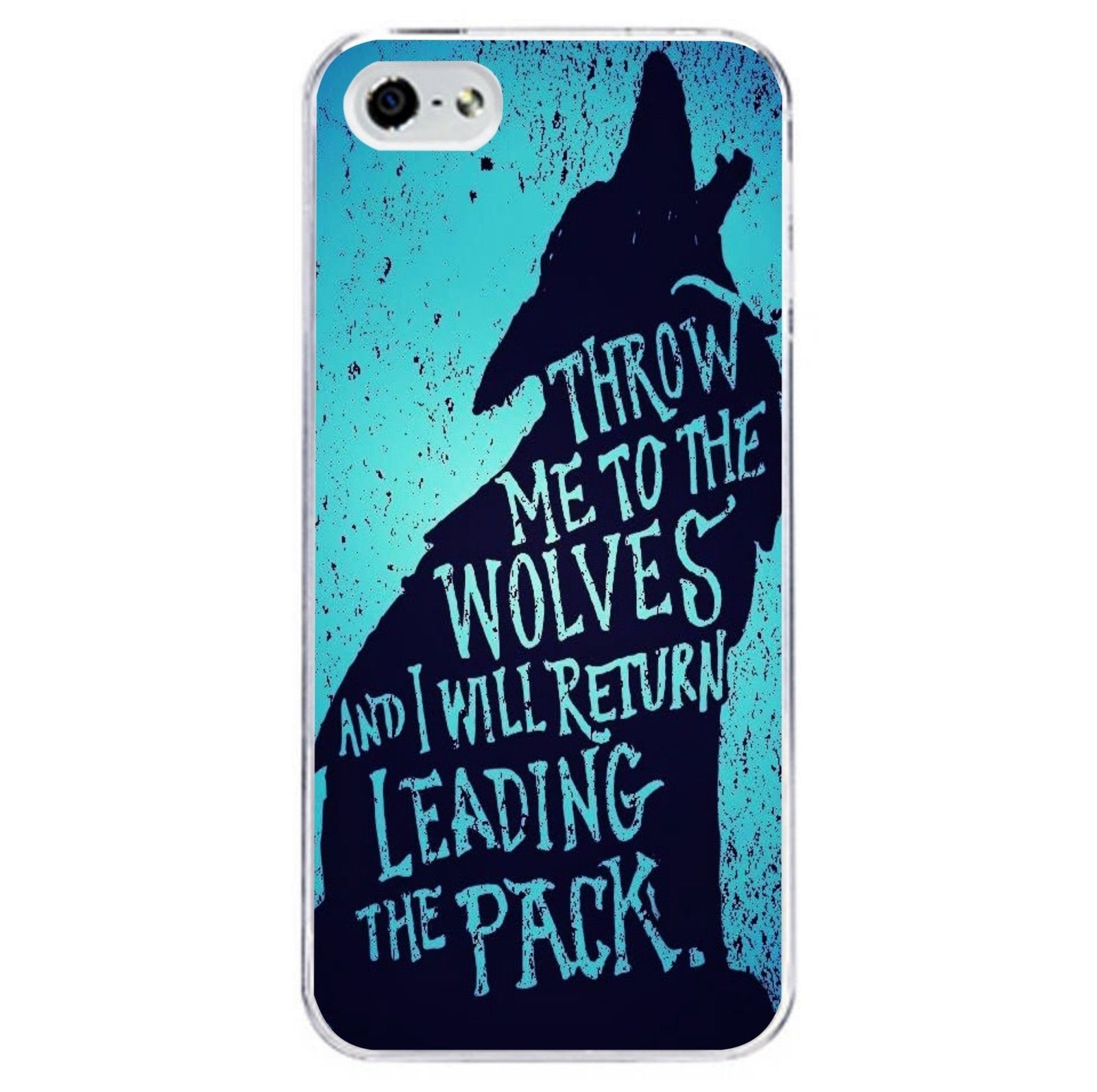 Wolf Quote Phone Case Cover Fits Iphone 4S 5C 5 5S 6 6S 6