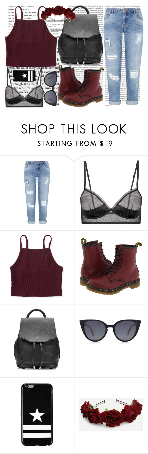 Maroon Sheer Lingerie Denim Jeans And Givenchy Top Up Upan