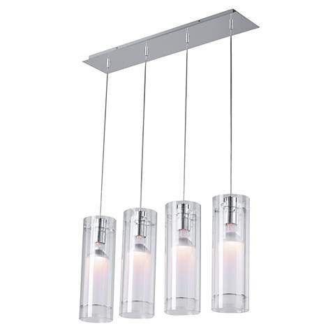 Clear cylindrical et2 multi pendant light fixture pendant lighting clear cylindrical et2 multi pendant light fixture aloadofball Image collections