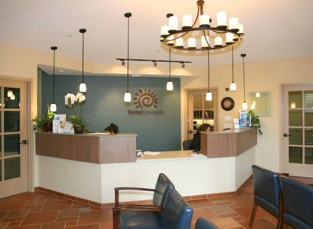 Dental Office Reception ... Nice Calm Shade Of Blue For
