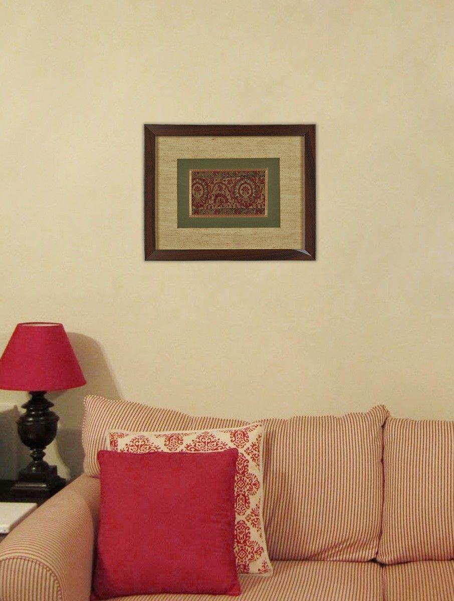 Buy Framed Jamawar Border c. 1820 Online | Buy frames, Frames online ...
