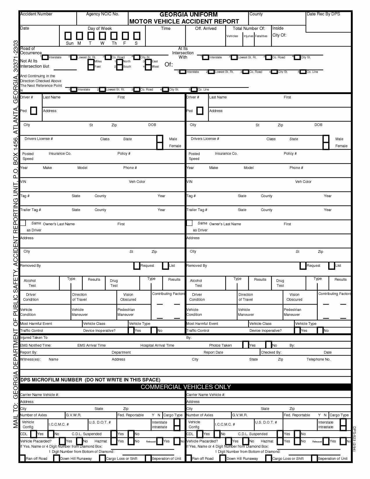 Vehicle Accident Report Form Best Of Tario Motor Vehicle Accident Report Impremedia Business Letter Format Business Case Template Templates