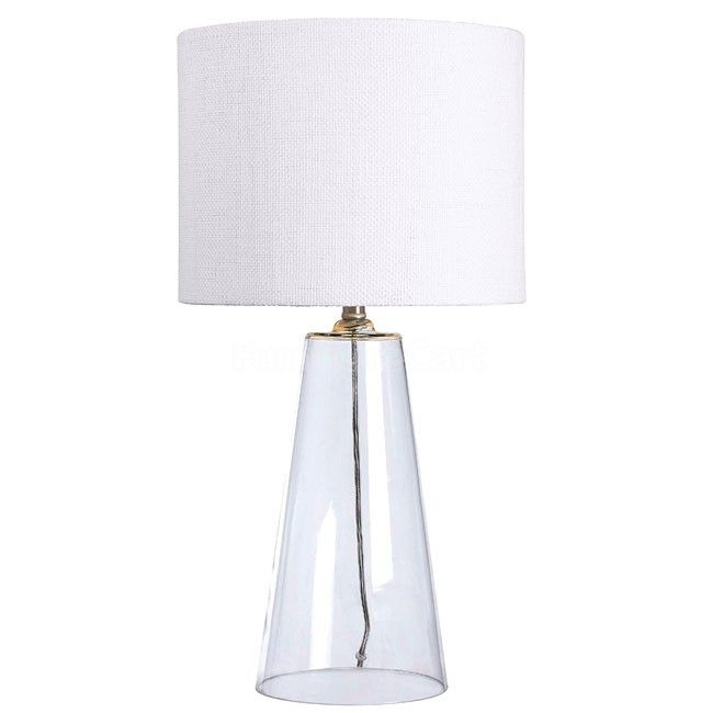 Boda Table Lamp | Clear glass table lamp, Clear glass lamps