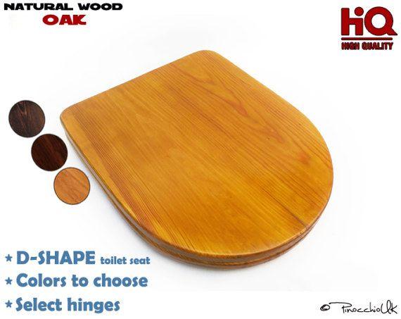 wooden d shaped toilet seat. D Shape Toilet Seat From Oak  Wooden Pinterest