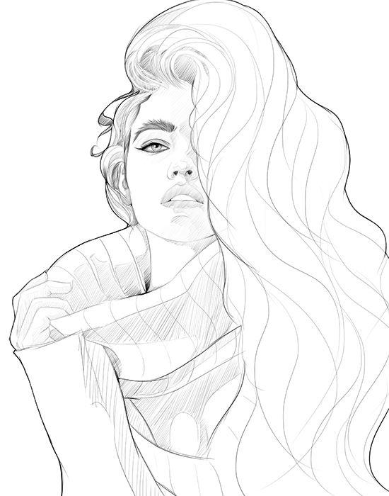 Barbara palvin illustration on Behance