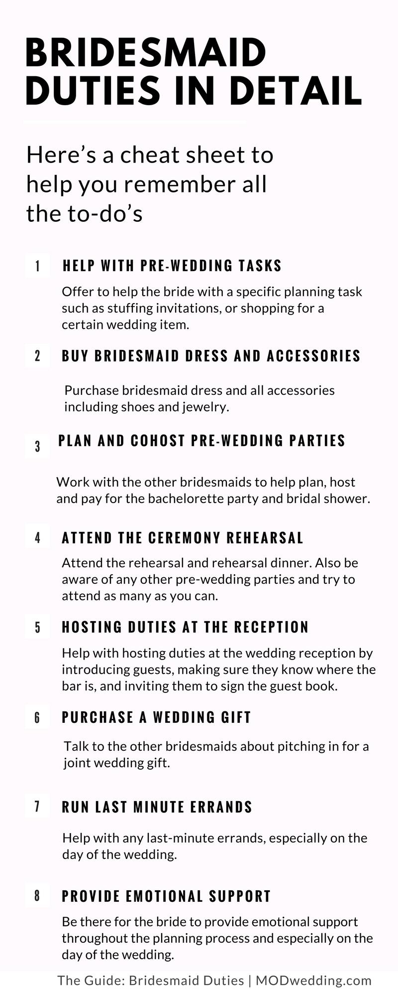 Wedding planning bridesmaid duties in detail bridesmaid duties wedding planning bridesmaid duties in detail sciox Gallery