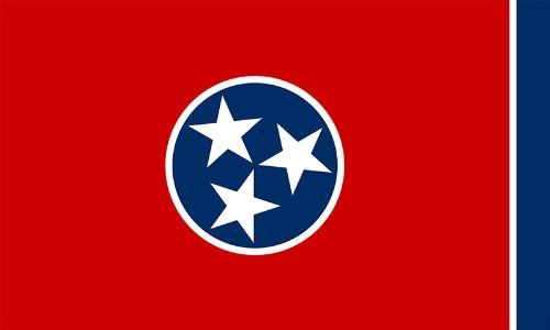 State Flag Of Tennessee Sticker Car Decal Want To Know More Click On The Image Note It Is Affiliate Link T Tennessee Flag Tennessee State Flag State Flags
