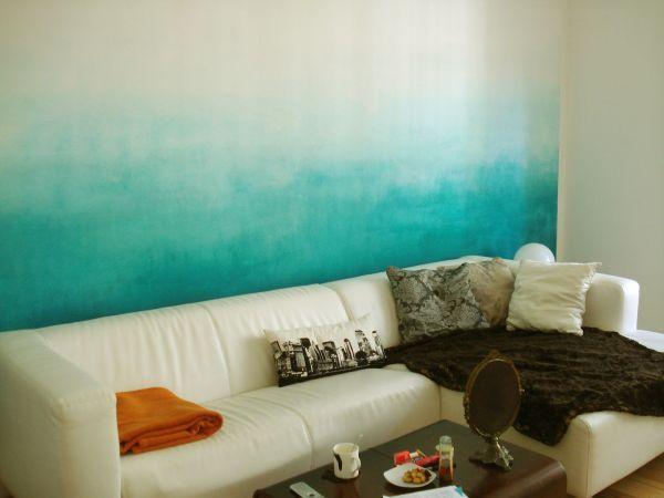 Tie Dye Walls Wande Streichen Schlafzimmer Design