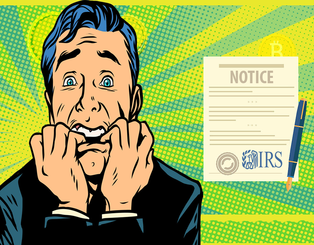 IRS sends warning letters to crypto owners