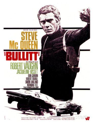 Affiche cinéma Bullitt