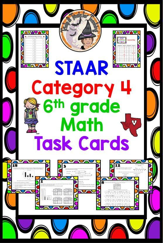 FABULOUS STAAR-6th-grade-Math Reporting-Category-4 Task ...