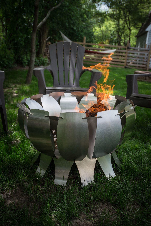 Tanami ss fire pit in diy fire pit ideas pinterest steel