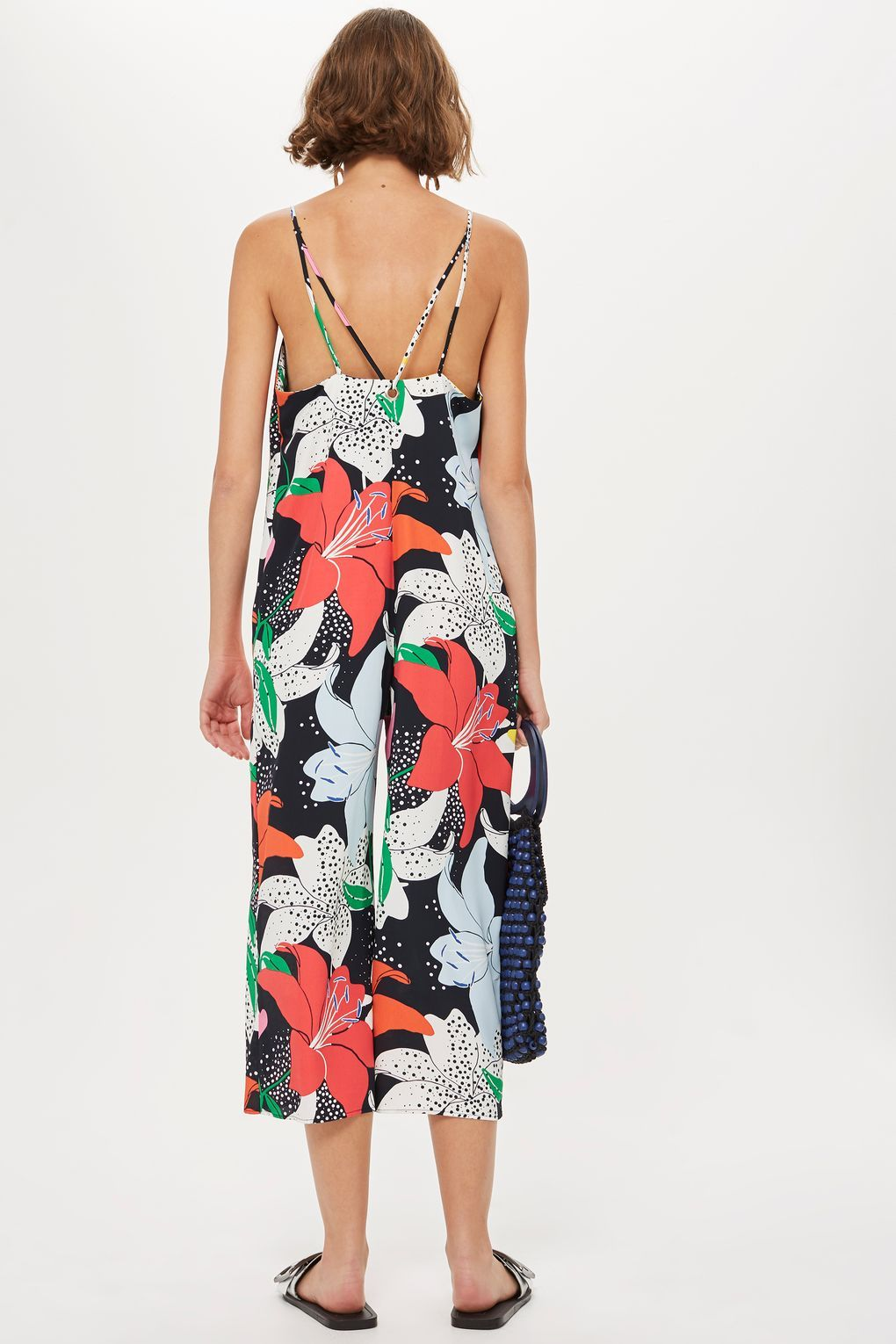825b6a0bd8a7 Strappy Floral Jumpsuit - New In Fashion - New In - Topshop