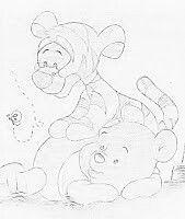 Pooh e tigrão
