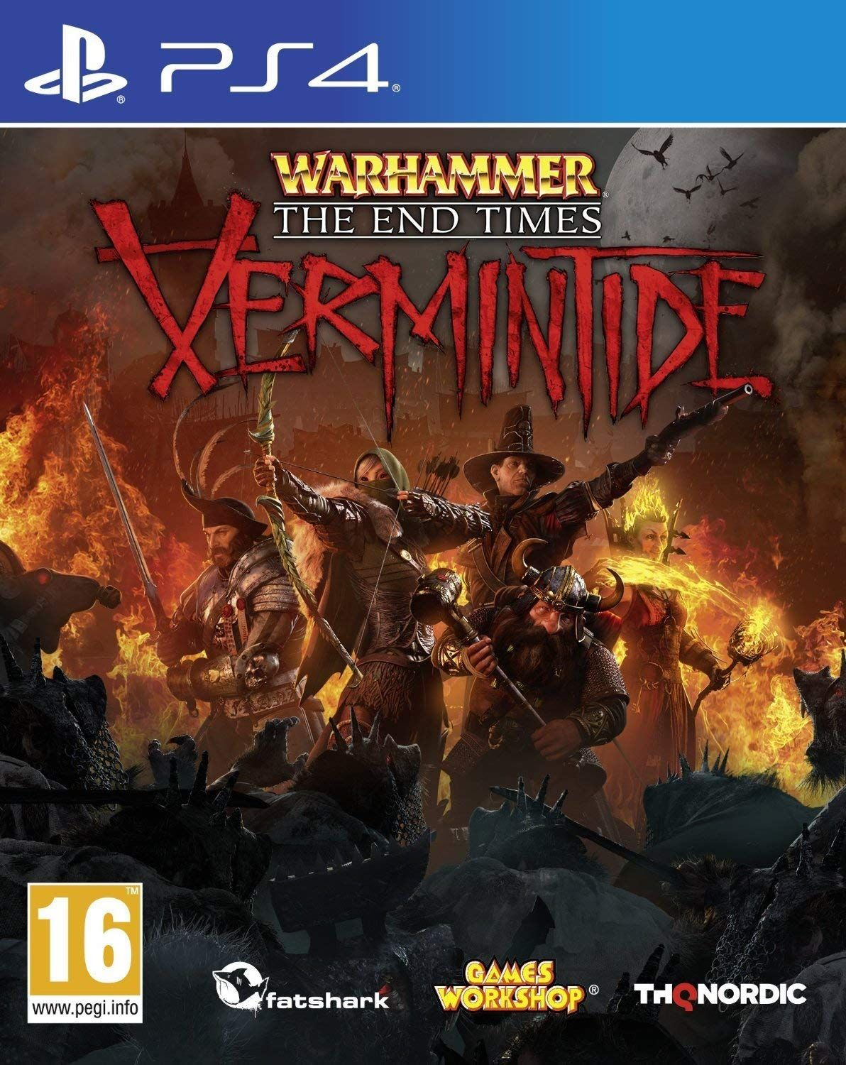 Warhammer Vermintide PS4 Nordic games, Video games pc
