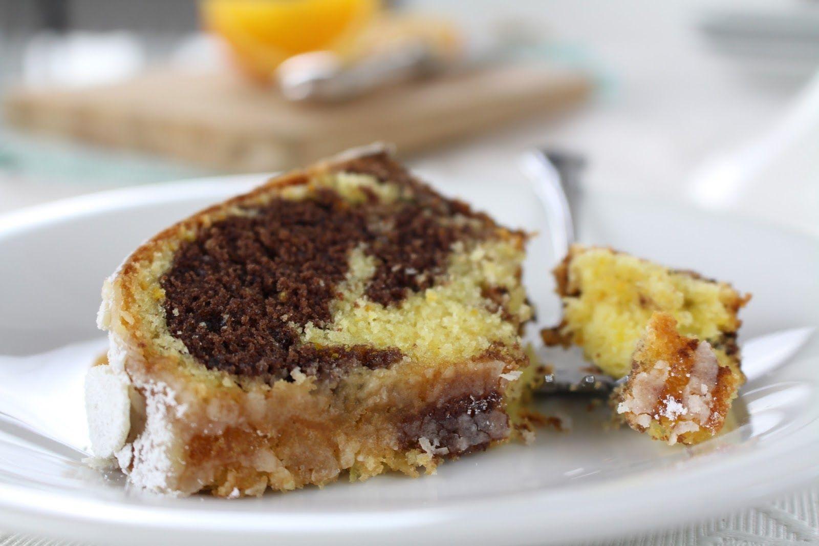 Spanischer Orangen Gugelhupf Super Saftiger Marmorkuchen Mit