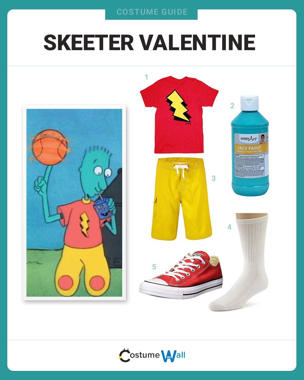 Dress Like Skeeter Valentine | Skeeter valentine, Cool ...